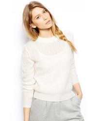 Le Mont St Michel Long Sleeve Sweater - Lyst