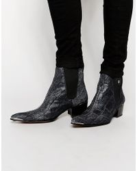 Jeffery West | Leather Chelsea Boots | Lyst