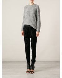 Forte Forte Raised Seam Sweater - Lyst