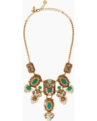 Kate Spade Showgirl Gems Necklace - Lyst
