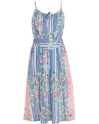Paul & Joe Printed Mid Length Dress - Lyst