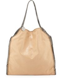 Stella McCartney Falabella Large Faux-Leather Tote Bag - Lyst