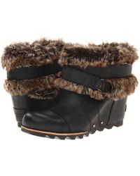 Sorel Joan Of Arctic Wedge Ankle - Lyst