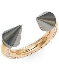 Vita Fede - Titan Surf Swarovski Crystal Two-tone Ring - Lyst