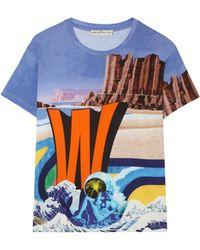 Mary Katrantzou W For Wonderful T-shirt - Lyst