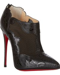 Christian Louboutin Mandolina Ankle Boots - Lyst