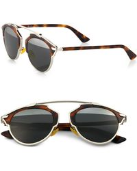 Dior So Real Metal & Plastic Sunglasses - Lyst