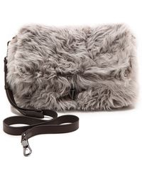 Elizabeth And James Jack Convertible Clutch  Steel Grey - Lyst