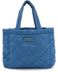 Marc By Marc Jacobs Crosby Quilt Small Tote - Black - Lyst