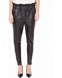 Pixie Market Sloane Leather Pants - Lyst