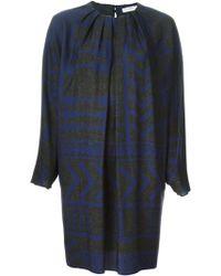 Vionnet Pleated Neck Dress - Lyst