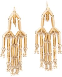 Adia Kibur - Olivia Chandelier Earrings - Lyst