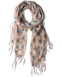 Ana Accessories Inc All Eyes On Me Scarf - Lyst