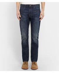 J.Crew 770 Slim-Fit Washed Denim Jeans - Lyst