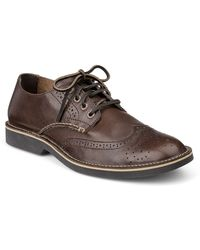 Sperry Top-sider Harbor Leather Wingtip Oxfords - Lyst