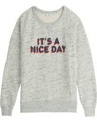 Closed Cotton Sweatshirt - Lyst