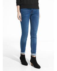 Mango Skinny Elektra Jeans - Lyst
