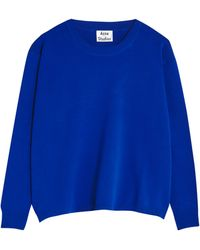 Acne Studios Misty Boiled Sweatshirt - Lyst