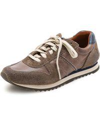 Frye Kane Running Shoes - Grey - Lyst