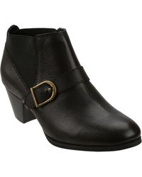 Bass Paloma Leather Ankle Boots - Lyst