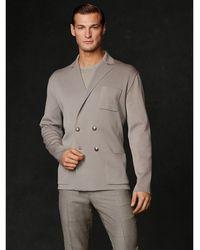 Ralph Lauren Purple Label Merino Wool Cardigan - Lyst