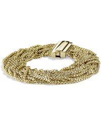 David Yurman Multi-Row Box Chain Bracelet - Lyst