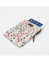 Paul Smith - 'playing Cards' Print Ipad Sleeve - Lyst