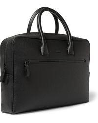 Lanvin - Textured-leather Briefcase - Lyst