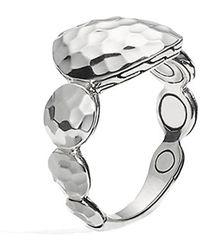 John Hardy 'Palu' Large Tapered Ring silver - Lyst