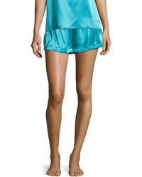 La Perla Studio Dolce Silk Shorts - Lyst