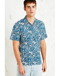 Lightning Bolt Paradise Flowers Aloha Shirt - Lyst