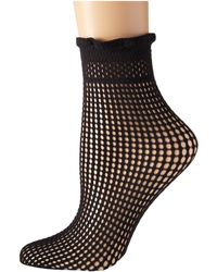 Wolford Black Bastille Socks - Lyst