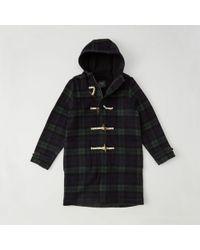 Abercrombie & Fitch - Italian Wool-blend Duffle Coat - Lyst