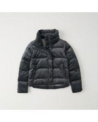 Abercrombie & Fitch - Velvet Ultra Mini Puffer - Lyst
