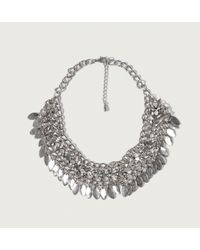 Abercrombie & Fitch - Leaf Necklace - Lyst