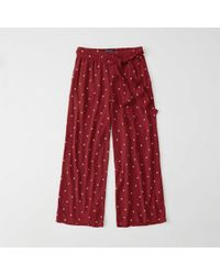 Abercrombie & Fitch - Palazzo Pants - Lyst