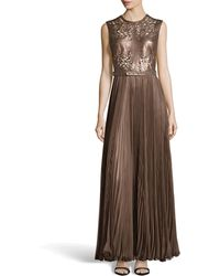Catherine Deane Naya Cutout Leather Gown - Lyst