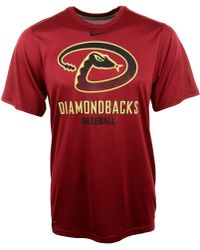 Nike Short Sleeve Arizona Diamond Backs Legend T-Shirt - Lyst