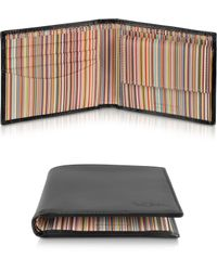 Paul Smith Signature Stripe Interior Billfold and Coin Wallet - Lyst