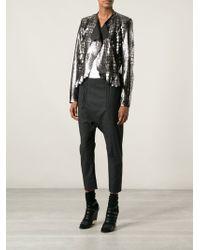 Isabel Marant Metallic Jacket - Lyst