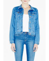 MiH Jeans Straight Denim Jacket - Lyst