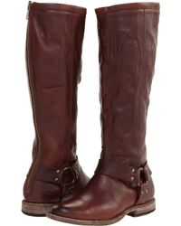 Frye Phillip Harness Tall - Lyst