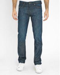 DIESEL | Faded Blue Buster Pr Slim-fit Jeans | Lyst