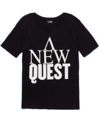 Cheap Monday T Shirt With New Quest Print - Lyst