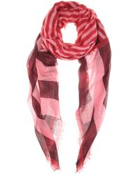 Burberry Brit Cashmere And Cotton Scarf - Lyst
