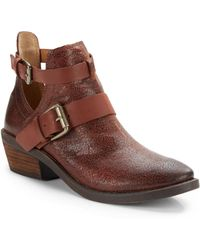 Lucky Brand Chaves Ankle Boots - Lyst