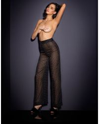 Agent Provocateur | Pennie Wide Leg Trouser Black | Lyst