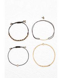 Forever 21 - Chain Bracelet Set - Lyst