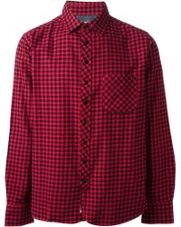 Rag & Bone Checked Shirt - Lyst