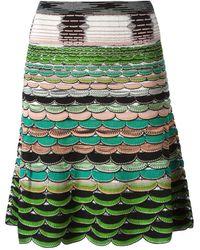 Missoni Scalloped Skirt - Lyst